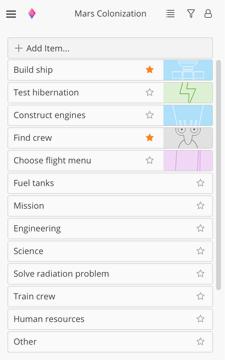 Zenkit Screenshots
